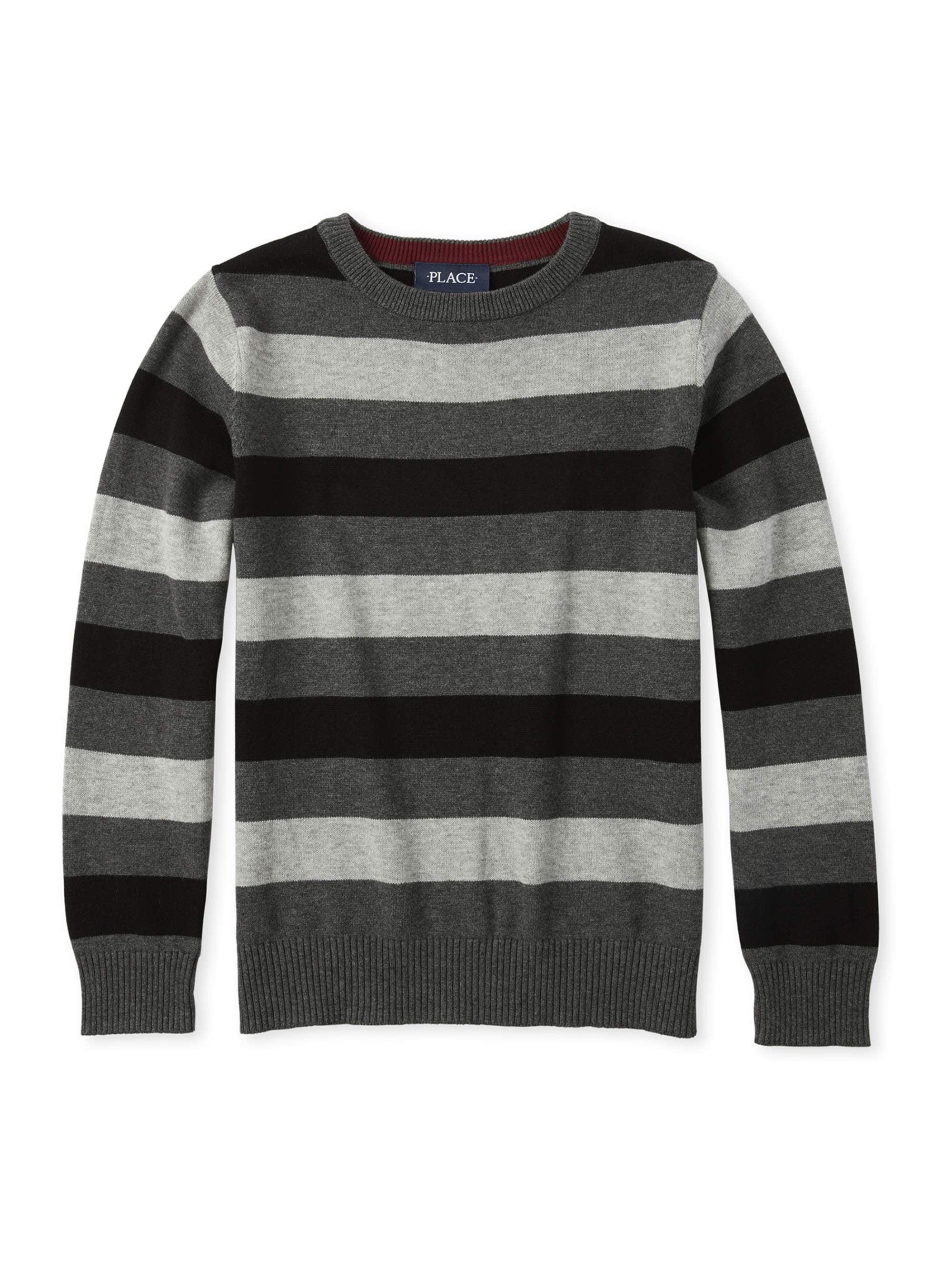 Boys striped sweater