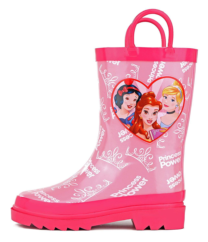 "New In Box Disney /""Princess/"" Six Princesses Toddler Girls Cowboy Boots Size 11"