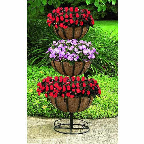 Three Tier Floor Planter