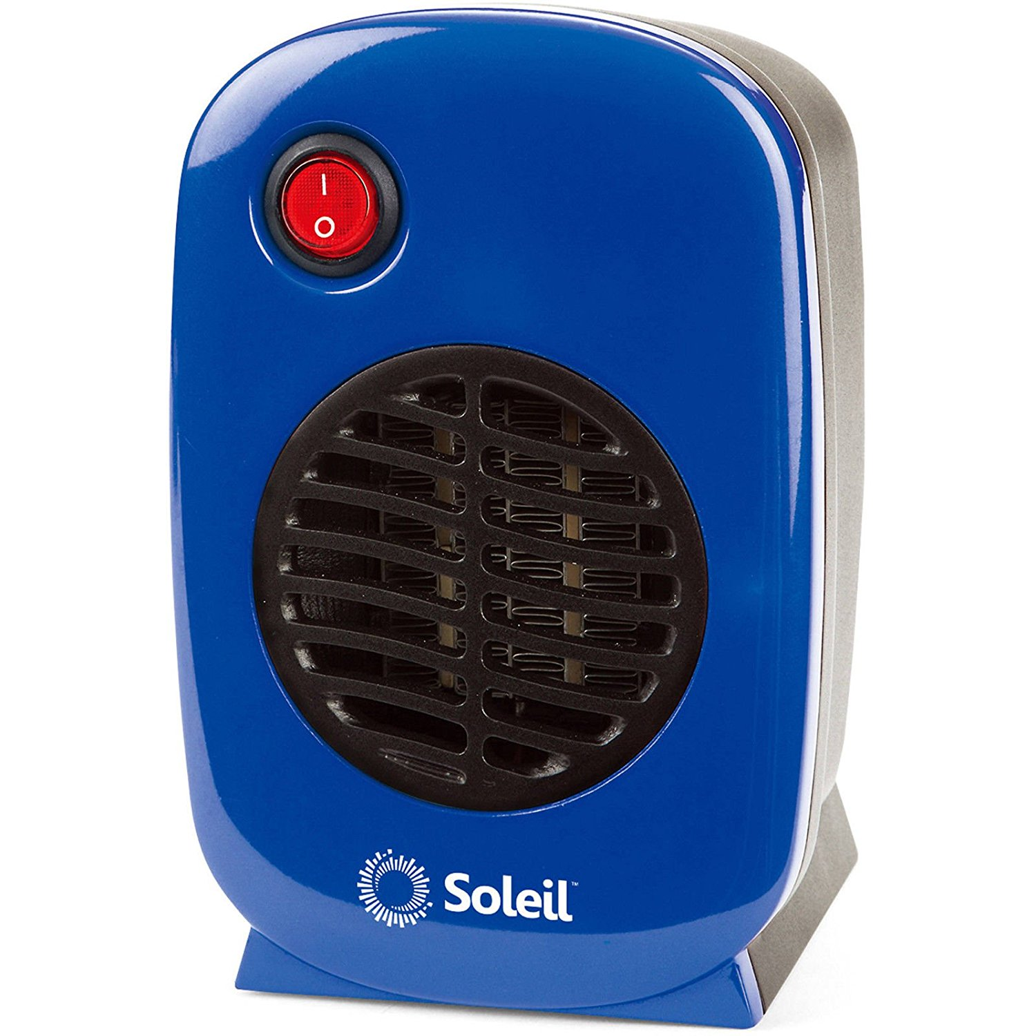 Personal, Portable Electric Ceramic Space Heater, 250 Watt MH-01 (Blue), By Soleil