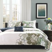 Home Essence Teen Kelly Printed Quilted Coverlet Bedding Set