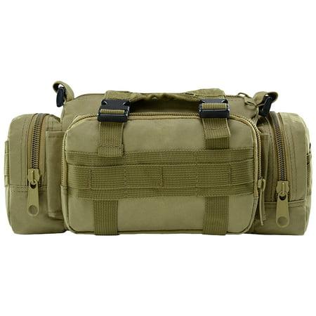 Multi-functional Waist Pack Bike Front Handle Bag Fishing Tackle Sling Bag Photography Training Utility Shoulder Backpack - image 7 de 7