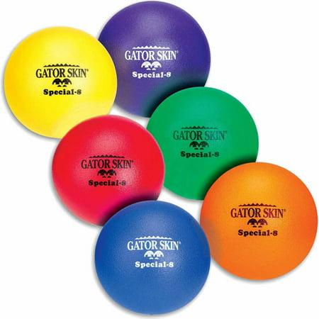 8   Gator Skin Special Foam Balls  Set Of 6