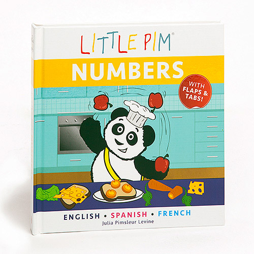 Little Pim Spanish & French For Kids Numbers Book