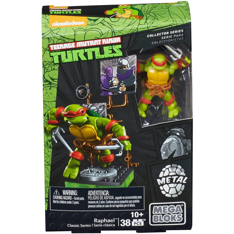 Mega Bloks Teenage Mutant Ninja Turtles Rapheal Classic Series by Mattel