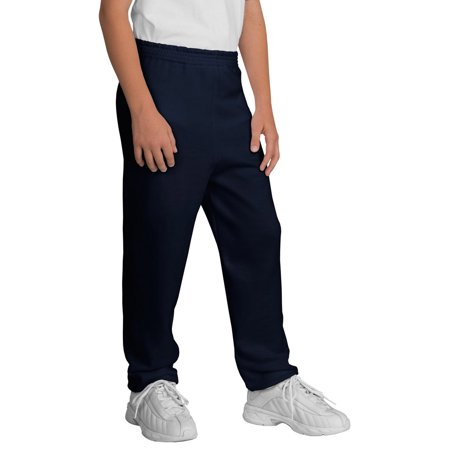 Port Company PC90YP Youth Sweatpant - Navy - (Company Youth Sweatpant)