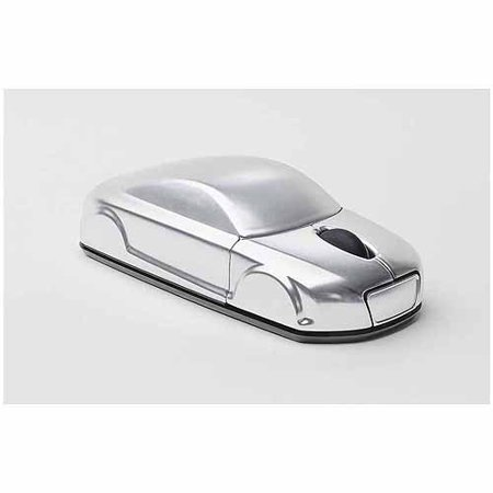 Click Car Audi Wireless Optical Mouse (Silver)