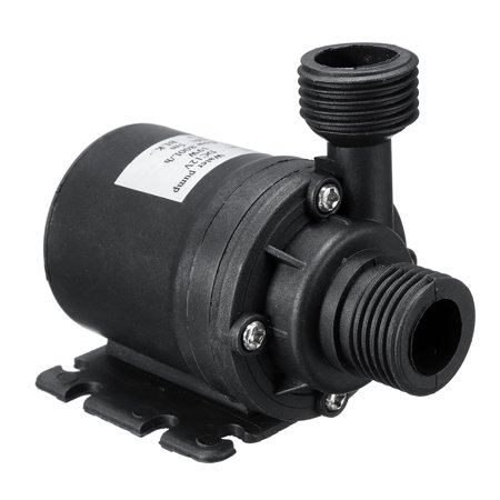 Ultra Quiet Mini DC 12V Lift 5M 800L/H Brushless Motor Submersible Water Pump (Dc Drinking Water Pump)