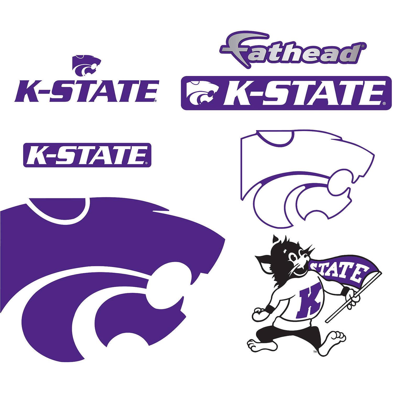 Fathead Kansas State Teammate Logo Assortment