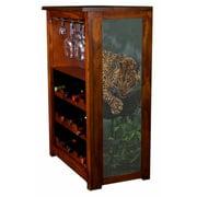 Leopard in The Tree Wine Cabinet