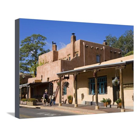 Store on Old Santa Fe Trail, Santa Fe, New Mexico, United States of America, North America Stretched Canvas Print Wall Art By Richard (Outlet Stores Santa Fe)