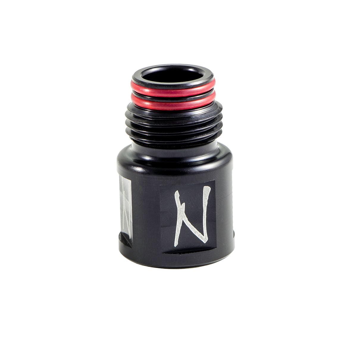 Ninja Paintball Reg Extender Black by Ninja Paintball