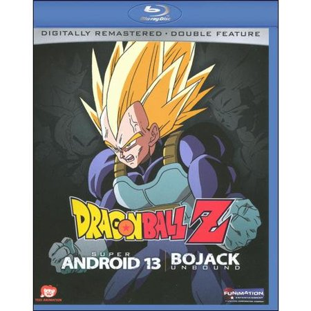 Dragonball Z  Super Android 13   Bojack Unbound  Blu Ray