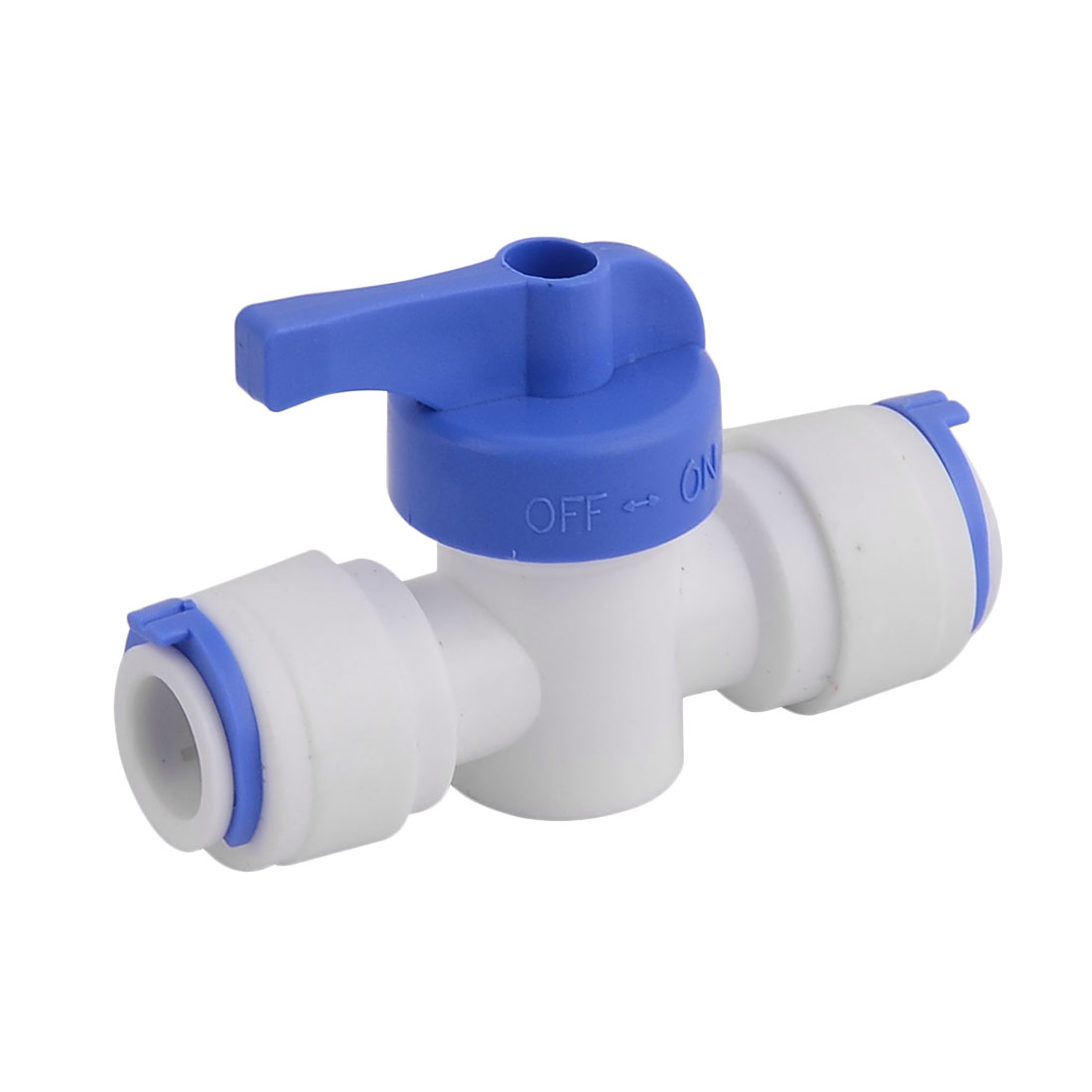Home Plastic Water Filter Purifier Purifying Ball Valve Connector Dispenser by