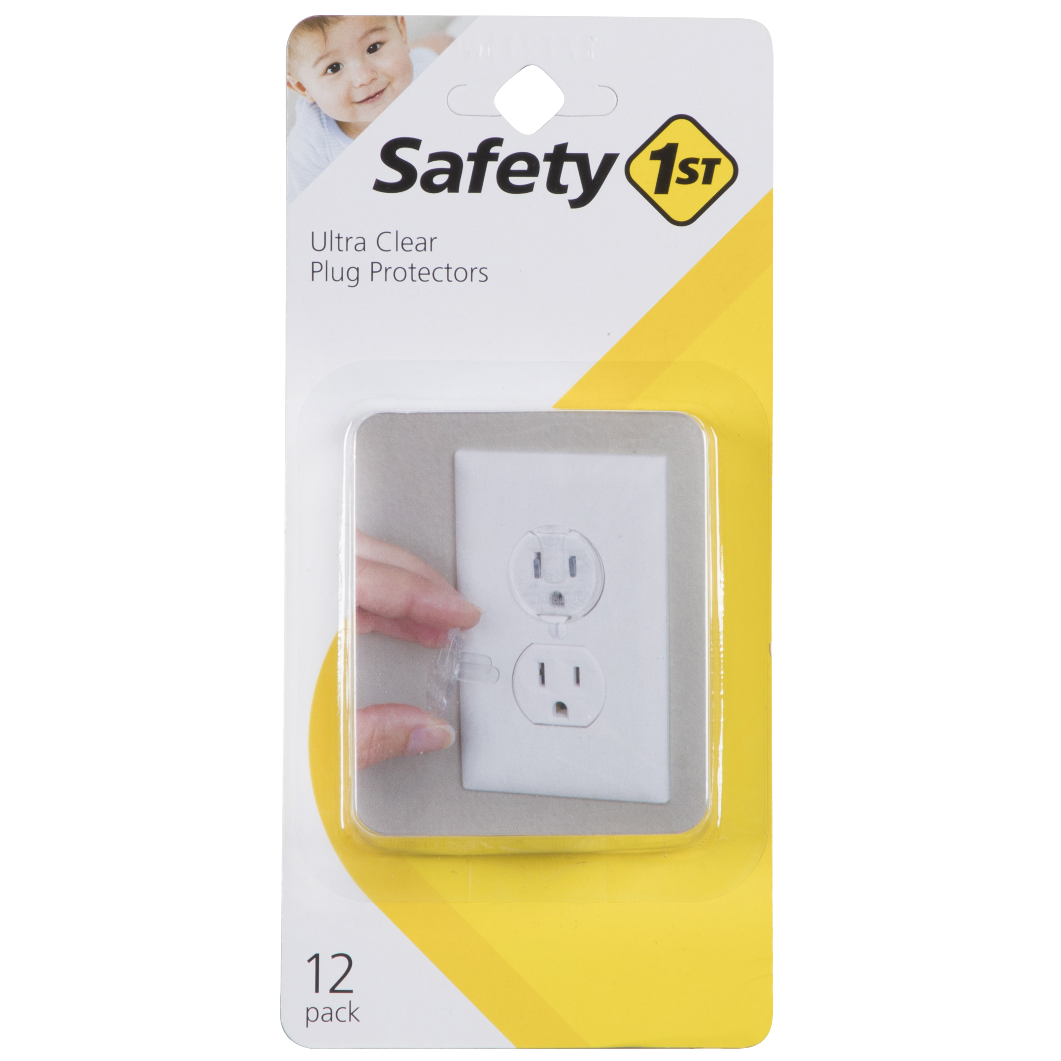 Safety 1st Ultra Clear Plug Protectors, Clear