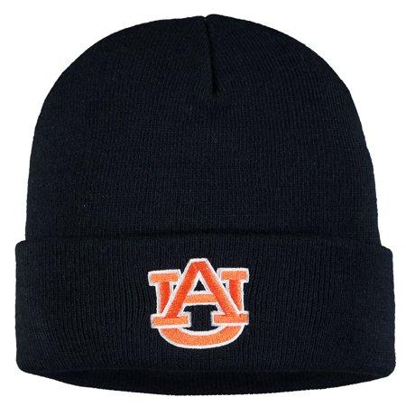 Auburn Tigers Russell Athletic Youth Team Cuffed Knit Hat - Navy - OSFA Auburn Tigers Led