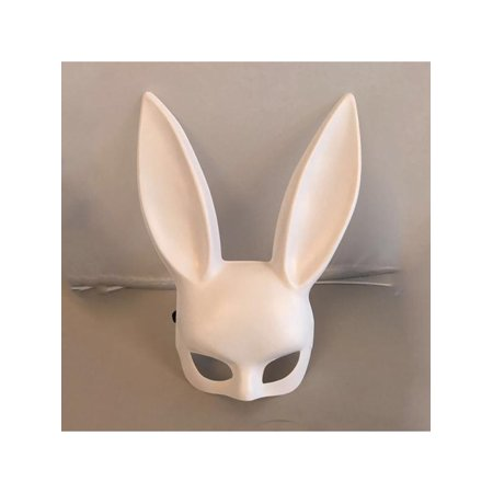 Halloween Cat Mask And Ears (Topumt Adult Bunny Ear Mask Fancy Dress Ball Mask Halloween Party)