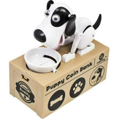 Dog Piggy Bank Robotic Coin Toy Money Box (Plastic Piggy Bank)