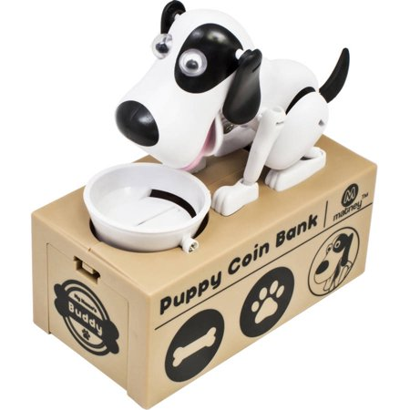 Dog Piggy Bank Robotic Coin Toy Money Box