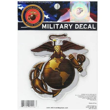 Us Navy Colored Metal Auto Emblem