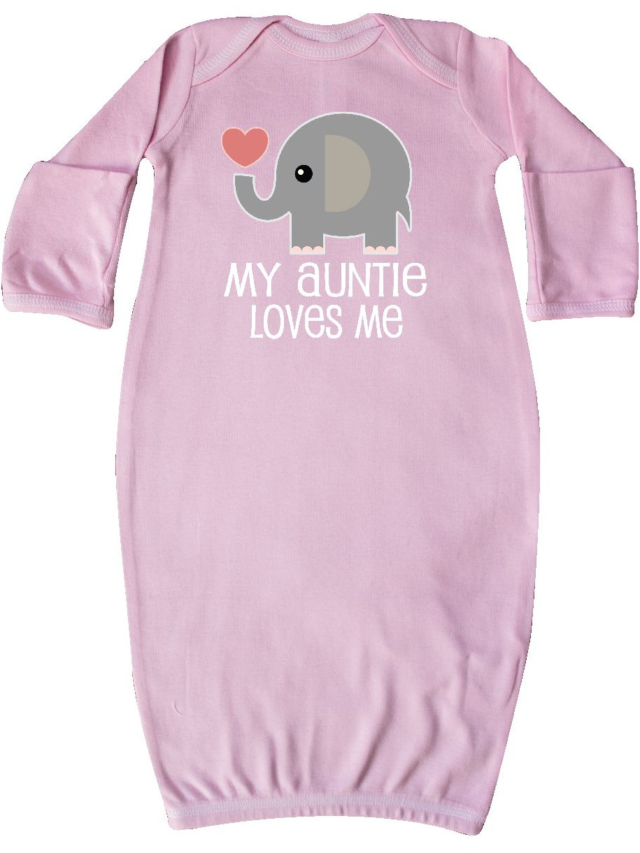 My Auntie Loves Me Niece Gift Newborn Layette