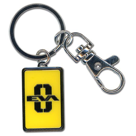 Key Chain - Evangelion - New Unit 00 Metal Anime Gifts Licensed