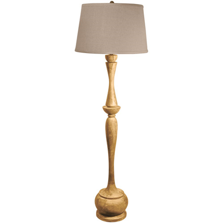 Acacia 1 Light (Floor Lamps 1 Light With Distressed Acacia Finish Wood Material E26 Bulb Type 65 inch 100)