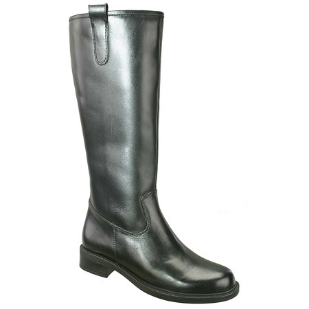 David Tate Women's Best 20 Fashion Boots Black Leather 6 (Best Wide Calf Boots 2019)