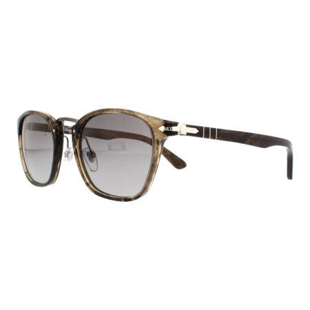 0d4c9e89b8 PERSOL - PERSOL Sunglasses PO 3110S 1019M3 Cortex Striped 51MM - Walmart.com