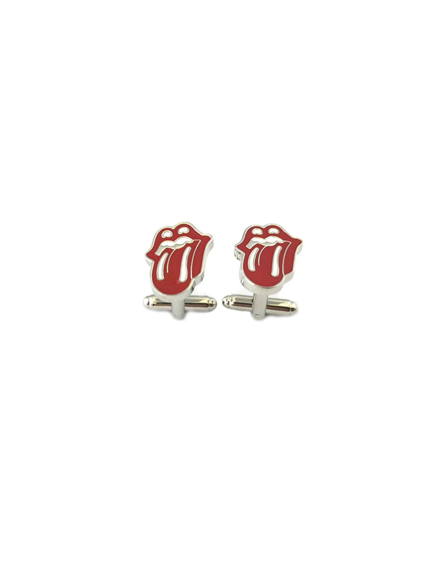 Rolling Stones Tongue Men's Groomsmen Cuff Links w/Gift Box by Superheroes