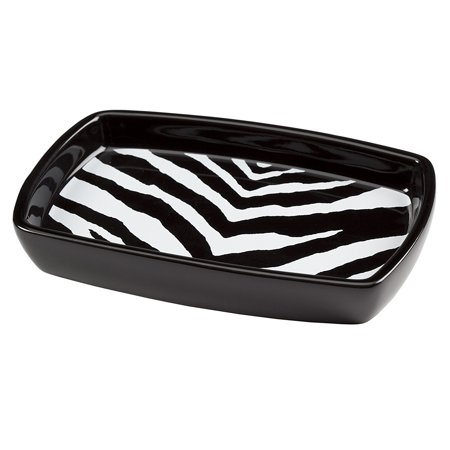 Products Zebra Soap Dish, Includes 1 soap dish By Creative Bath