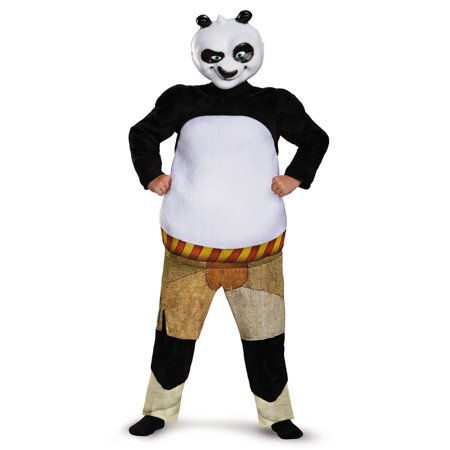 Kung Fu Panda Infant Halloween Costume (Kung Fu Panda-Po Deluxe Muscle Costume by Disguise)
