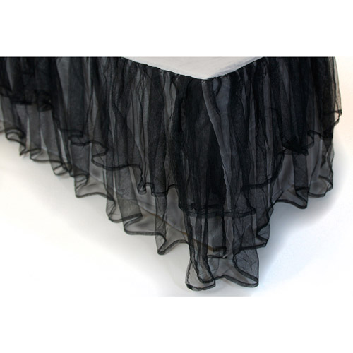 Triple Layer Tulle Bedding Bedskirt by Sleeping Partners