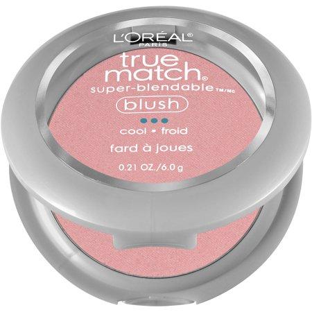 L'Oreal Paris True Match Super-Blendable Blush, Tender Rose C3-4, 0.21 oz