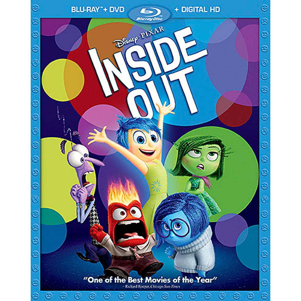 Inside Out (Blu-ray + DVD + Digital HD)