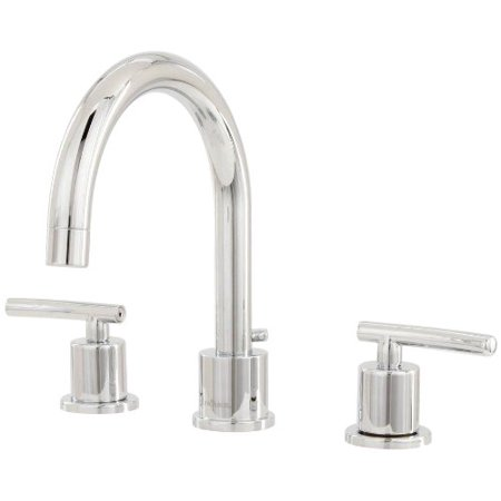 Pegasus Fw0c4100cp Dorset 8 Inch Widespread 2 Handle High Arc Bathroom Faucet With