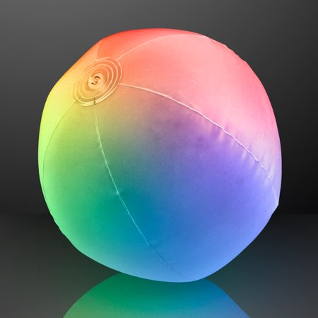 FlashingBlinkyLights Light Up Beach Ball with Color Changing LED Lights
