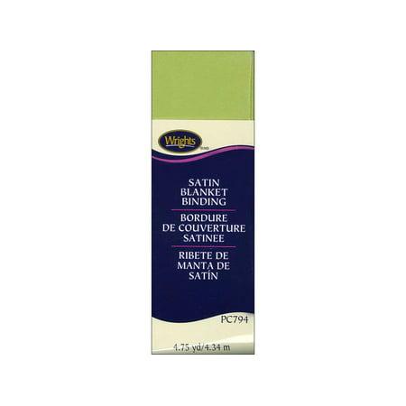 Poly Binding (Wrights Blanket Binding Poly 4.75yd Lime Green)