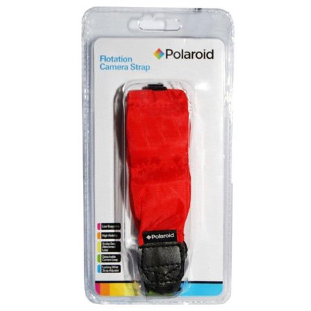 Polaroid Floating Wrist Strap Red For Underwater