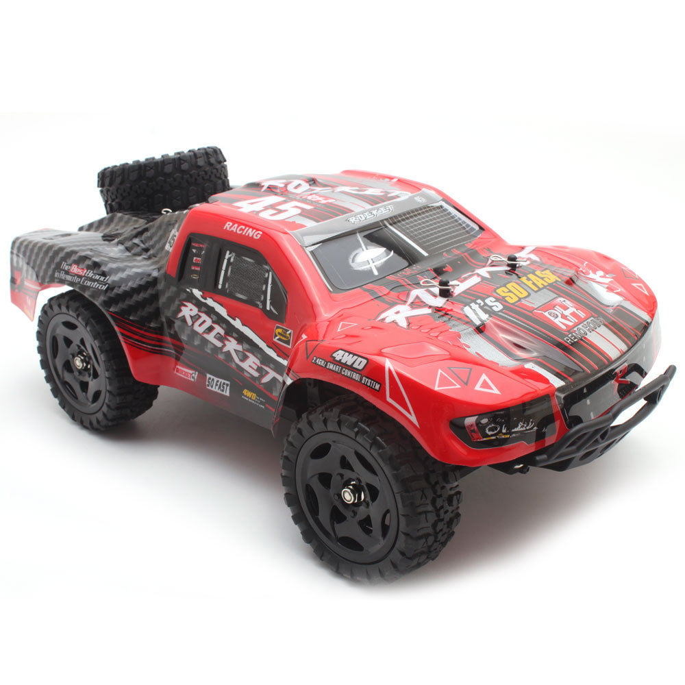 REMO 1621 1 16 RC Truck Car 50km h 2.4G 4WD Waterproof Brushed Short Course SUV by Cheerwing