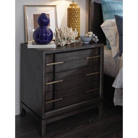 Magnussen Bedroom Bedroom Set (Magnussen Proximity Heights Contemporary 2 Drawer Nightstand)