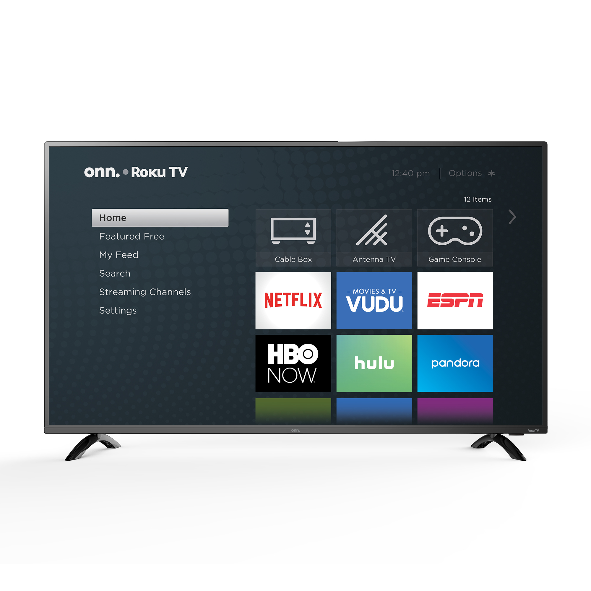 Onn. 50in. Class 4K Roku Smart TV for $148