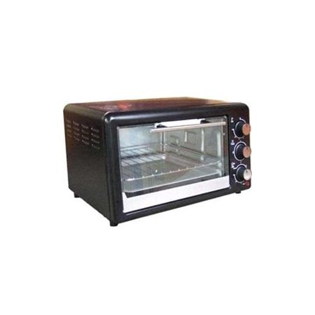Avanti Toaster Oven 0.60 ft Capacity Toast, Broil, Bake Black by