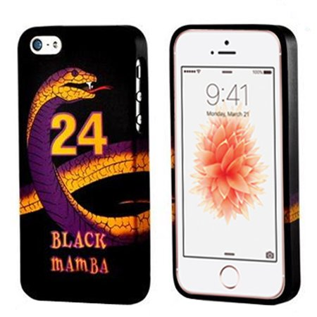 Apple iPhone 5S Case, [Purple] Slim & Flexible Anti-shock Crystal Silicone Protective TPU Gel Skin Case Cover
