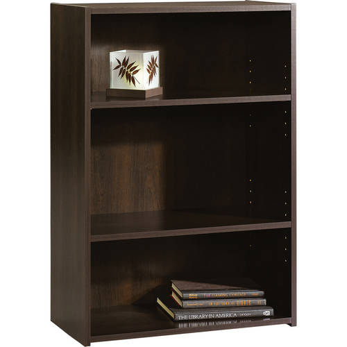 Sauder Beginnings 3-Shelf Bookcase, Multiple Finishes by Sauder Woodworking Co