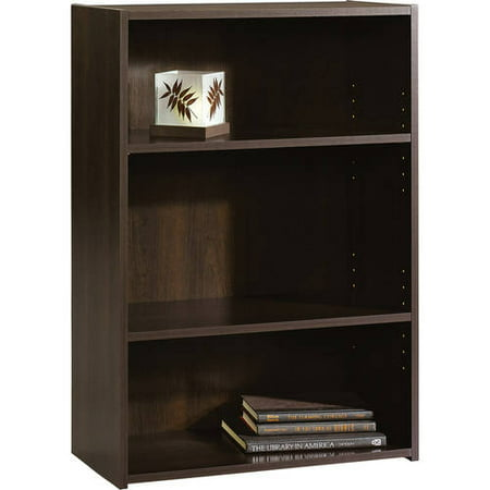 This button opens a dialog that displays additional images for this product  with the option to zoom in or out. - Sauder Beginnings 3-Shelf Bookcase, Multiple Finishes - Walmart.com