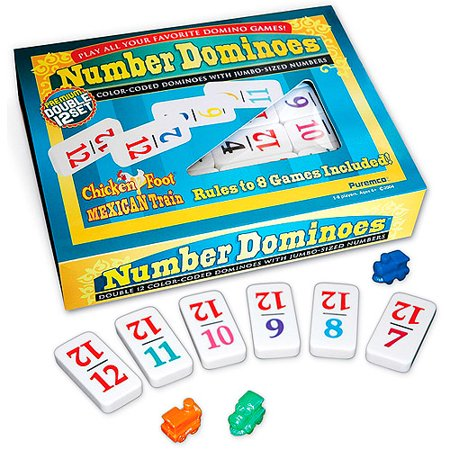 Professional Size Double 12 Number - Gas Domino