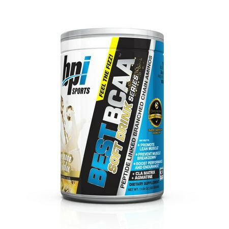 BPI Sports Best BCAA Soft Drink Series, Cream Soda, 30 (Best Energy Drink For Running)