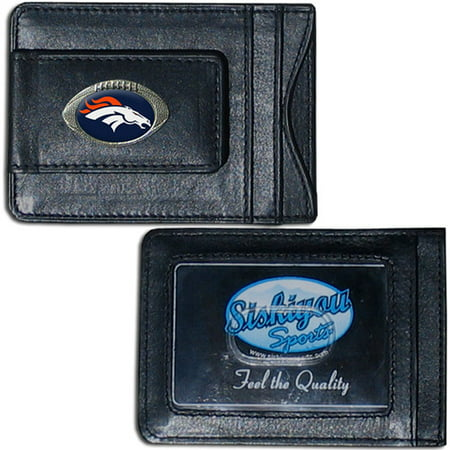 - NFL - Money Clip and Cardholder,  Denver Broncos