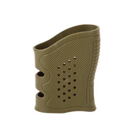 Glock Holster Outdoor Black Hunting Gun Accesories Anti Slip Tactical Handgun Rubber Protect Cover Grip Glove Tactical Glock Holster (Grey)